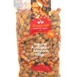 ALMONDS NATURAL AEGEAN 450g