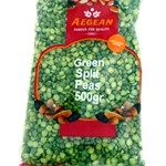 AEGEAN GREEN SPLIT PEAS 500G