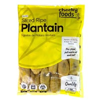 CHEEKY FRUIT PLATANO PLANTAIN MADURO RIPE SLICED 1kg