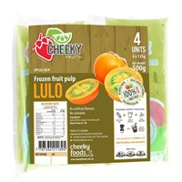 CHEEKY FRUIT PULP FROZEN LULO 4 X 125g