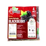 CHEEKY PULP FROZEN BLACKBERRY 4X125G