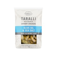 CONTINENTAL TARALLI WITH OLIVE OIL 250G