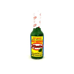 EL YUCATECO HABANERO GREEN HOT SAUCE 120ml