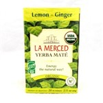 LA MERCED YERBA LEMON GINGER 60G
