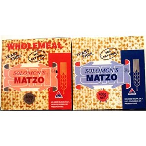 SOLOMONS MATZO REGULAR BREAD 400g