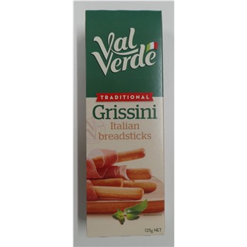 VAL VERDE TRADITIONAL GRISSINI 125g