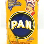 PAN PRECOOK YELLOW MAIZE FLOUR (ORANGE PKT) 1kg x10