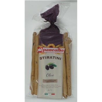 PANEALBA BREADSTICKS WITH OLIVE 250G