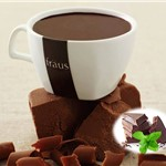 FRAUS MINT CHOCOLATE SACHETS X20