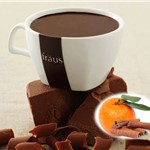 FRAUS ORANGE & CINNAMON CHOCOLATE SACHETS X20