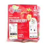 CHEEKY PULP FROZEN STRAWBERRY 4X125G