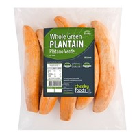 CHEEKY PLATANO VERDE GREEN ENTERO WHOLE PLANTAIN 1KG