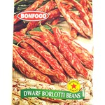 BONFOOD DWARF BORLOTTI BEAN SEEDS