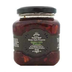 GRANNYS SECRET QUINCE & WALNUT JAM 375G