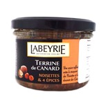 LABEYRIE DUCK TERRINE WITH HAZELNUT & SPICES 170G