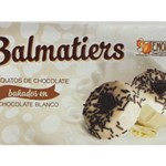 E.MORENO BALMATIERS WHITE CHOCOLATE COOKIES 100G