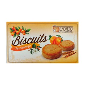 E.MORENO ORANGE COOKIES 100g