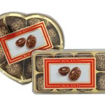 CROCANTI CHOCOLATE FILLED WAFERS HEART 100G