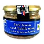 TERRINE PORK WITH CHABLIS WINE SAVEUR 180g