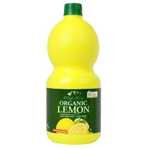 CHEFS CHOICE ORGANIC LEMON JUICE 1L