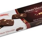 BELGIAN BUTTERS ULTIMATE CHOCOLATE ALMOND THINS 100g