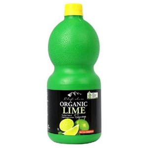CHEFS CHOICE ORGANIC LIME JUICE 1L