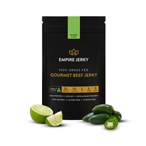 JERKY JALEPENO & LIME EMPIRE 50g