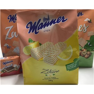 WAFER LEMON MANNER 400g