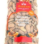 ALMONDS SMOKED AEGEAN 375g