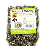 SUNFLOWER SEEDS ROASTED UNSALTED ANKARA 400g