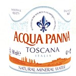 ACQUA PANNA MINERAL WATER GLASS 1L