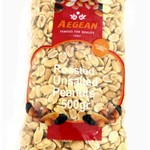 PEANUTS ROASTED UNSALTED AEGEAN 500g