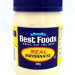 BEST FOODS MAYONNAISE 405g