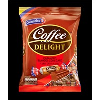 COFFEE DELIGHT CHEWY CANDY  x18 100g