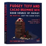 BROWNIE FUDGEY TEFF & CACAO MIX TEFF TRIBE 320g