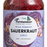SAUERKRAUT RED  GARLIC THE FERMENTIER 500g